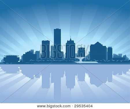 Milwaukee, Wisconsin Skyline