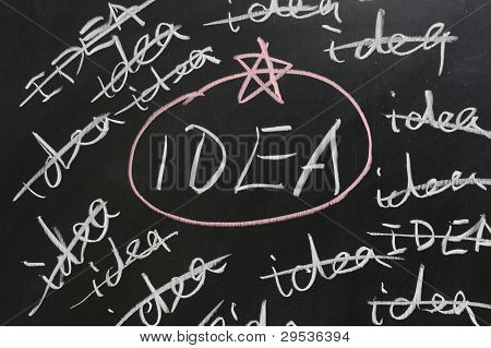 Choosing Proper Idea