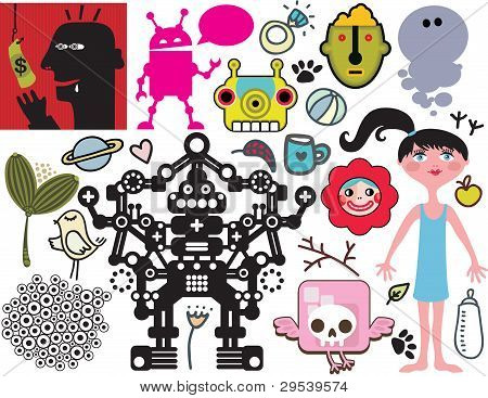 Mix of vector images. vol.40