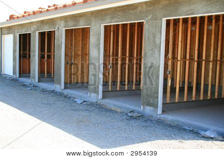 Garage Building Under Construction