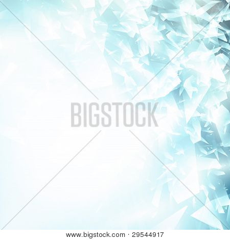 Abstract Broken Glass Background