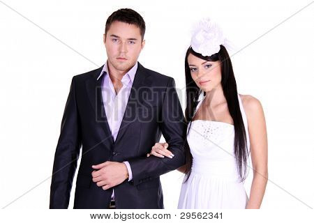 Loving couple standing in the studioLoving couple standing in the studioLoving couple standing in the studio
