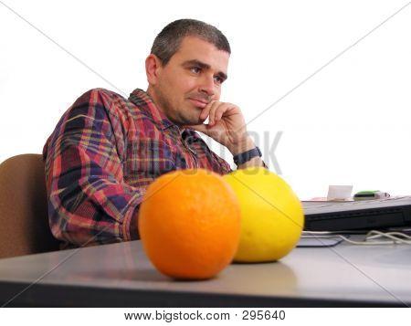 Man At The Desk