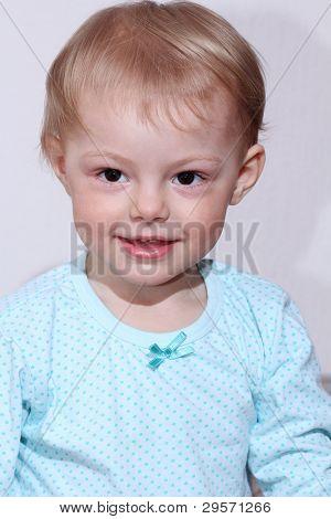 helle Closeup Portrait von Baby bengel