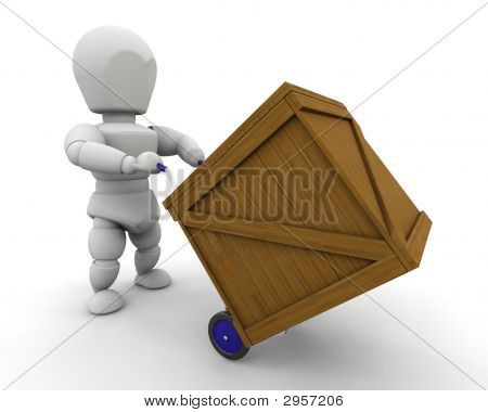 Man With Crate