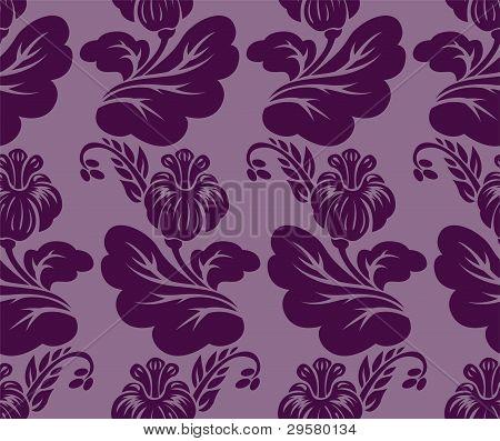 Purple Seamless Background