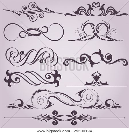Collection Of Decorative Elements
