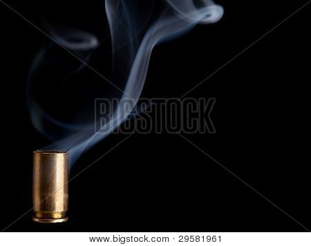 Smoking Bullet Casing