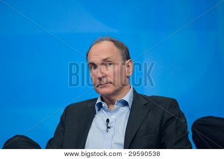 Orlando, Florida - January 18, 2012: Inventor And Founder Of World Wide Web Sir Tim Berners-lee Deli