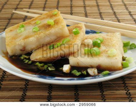 Taro With Soy Sauce