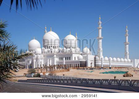 Sheikh Zayed Moschee, Abu Dhabi, Vereinigte Arabische Emirate, Nahost