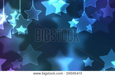 Fondo de estrellas vacacional universal