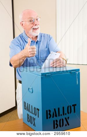 Election - Senior Thumbsup