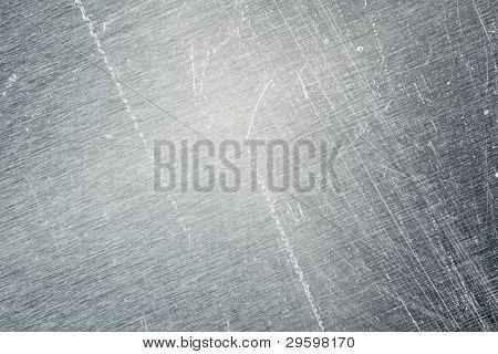 eine alten Metal Hintergrundstruktur kratzen