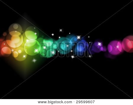 blurred colored lights holiday illumination background