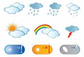 stock photo of hurricane clips  - Weather Icons - JPG