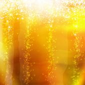 stock photo of champagne glass  - bubbles in a glass of champagne - JPG