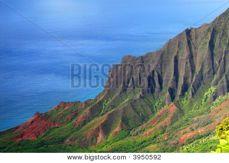 Napali Coast Of Kauai Hawaii