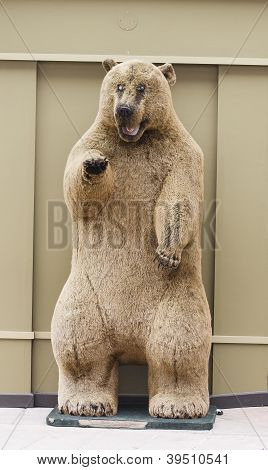 Stuffed Kodiak Bear