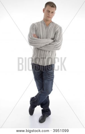 Standing Man With Crossed Arms