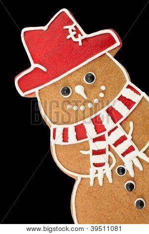 Gingerbread snowman