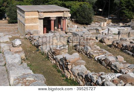 Ancient Knossos Palace