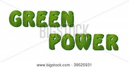 Green Power.