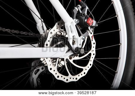 Bicycle rear disc brake