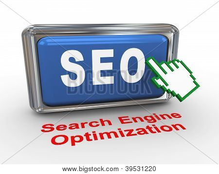 3D Hand Cursor And Seo Button