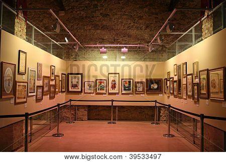 ISTANBUL-OCTOBER 20:Islamic Arts Gallery