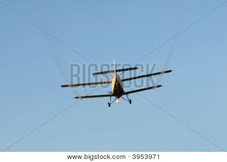Airplane In Low Flight