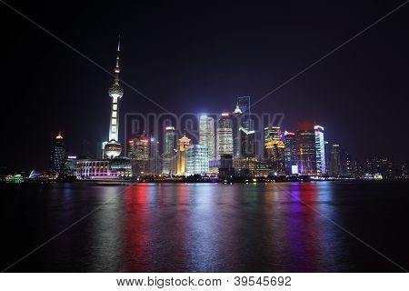 Streetview Of Shanghai Town