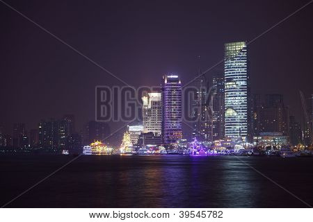 Streetview Of Shanghai Town