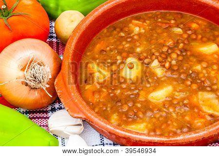 Soup Of Lentils