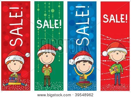 Christmas Sale Banners