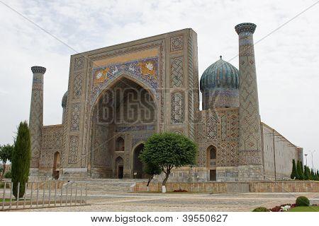 Registon Place, Samarkand, Uzbekistan