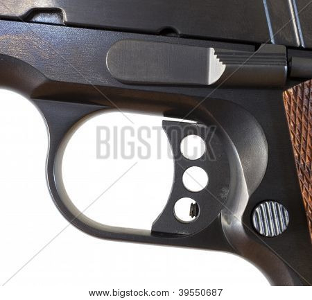 Skeletonized Handgun Trigger