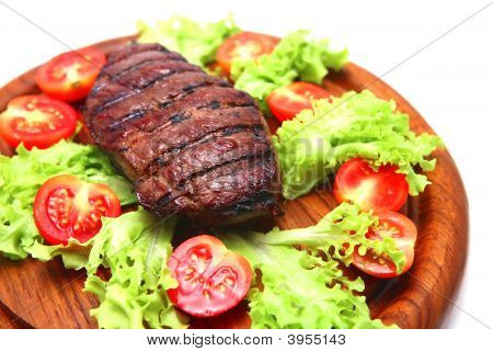 Roasted Beef Meat Steak