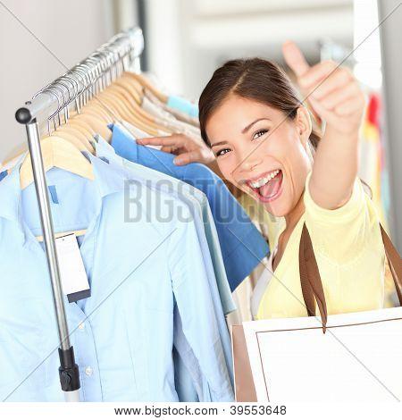 Shopping - Happy Shopper Woman