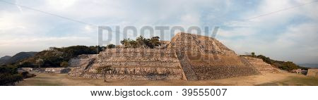 Ancient Mayan Pyramid In Xochicalco, Mexico