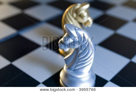 Silver Horse Chess