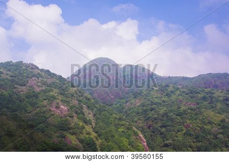viewing the nanling ridge at china