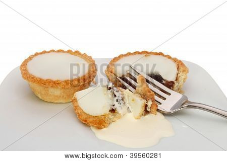 Mince Pies And Fork