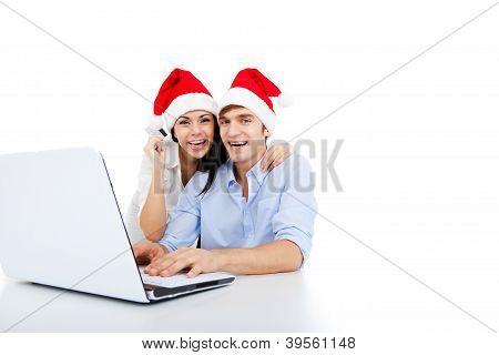Weihnachten-paar