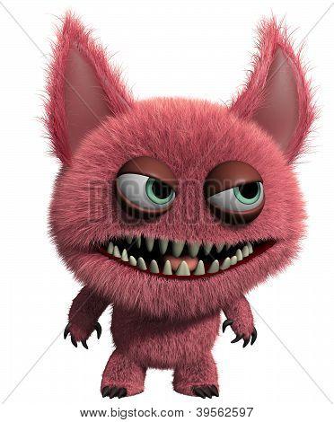 3D Furry Gremlin