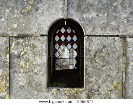 Old Tomb With Broken Windows