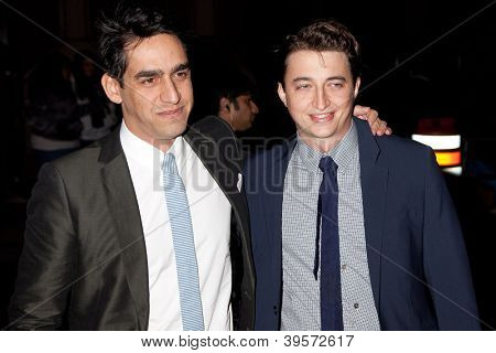 NEW YORK, NY - NOVEMBER 26: Direcror Benh Zeitlin and Zal Batmanglij attends the IFP's 22nd Annual Gotham Independent Film Awards at Cipriani Wall Street on November 26, 2012 in New York City.