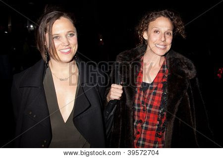 NEW YORK, NY - NOVEMBER 26: Heidi Ewing (R) and Rachel Grady attend the IFP's 22nd Annual Gotham Independent Film Awards at Cipriani Wall Street on November 26, 2012 in New York City.