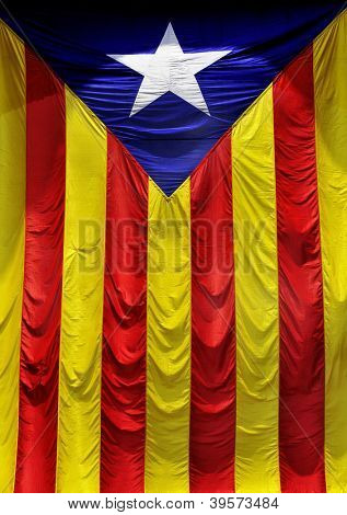 The Estelada, the Catalan independentist flag