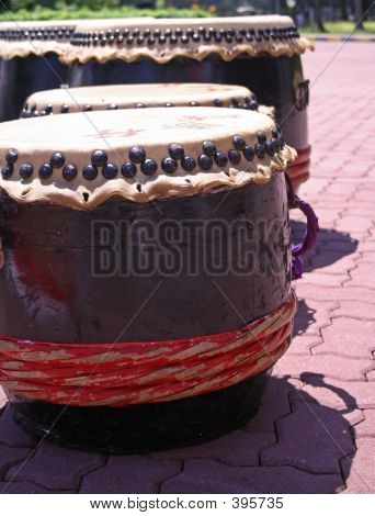 Chinese New Year Drums